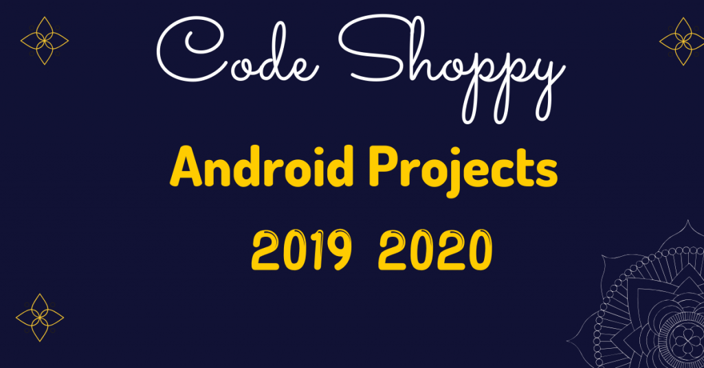 android projects topics 2019 for mca